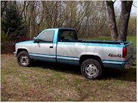 Chevy Silverado   Liter Truck Bed Door Hinges